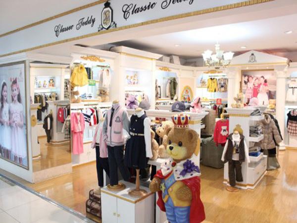 精典泰迪童装品牌店铺形象