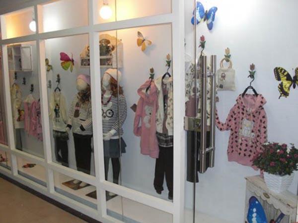 淘宝龙童装品牌店铺形象