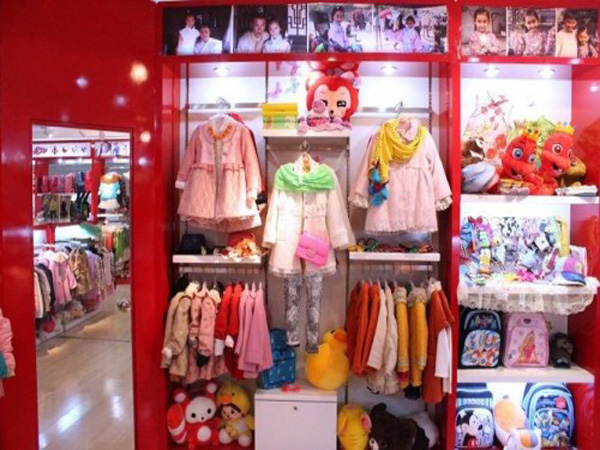 欢乐谷童装品牌店铺形象
