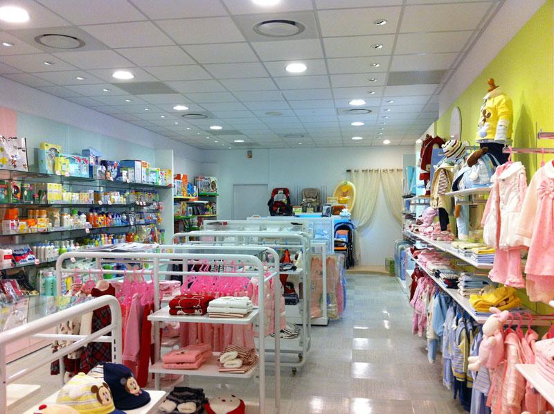 丽婴房童装品牌店铺形象