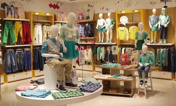 考拉考拉童装品牌店铺形象