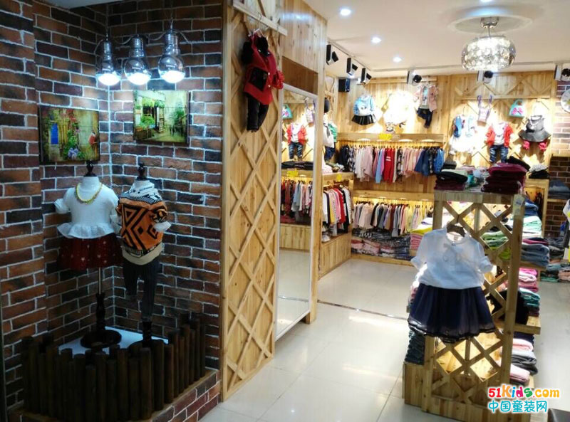 童装橱窗设计市场