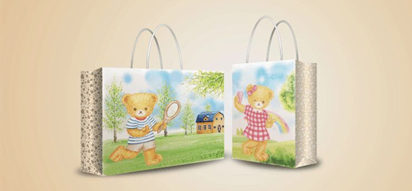波姆熊童装品牌店铺形象