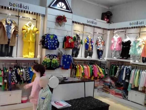 贝蕾地童装品牌店铺形象