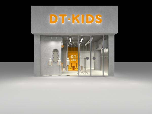 大头儿子和小头爸爸童装品牌店铺形象