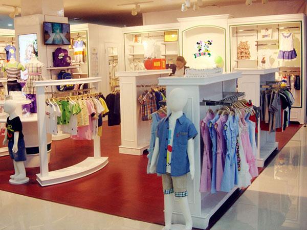 米琪派童装品牌店铺形象