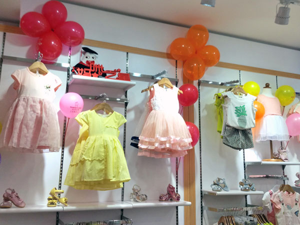 妈咪之星童装品牌店铺形象
