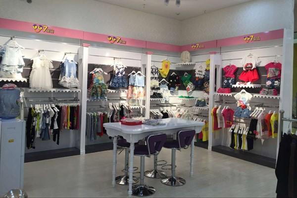 007童品童装品牌店铺形象