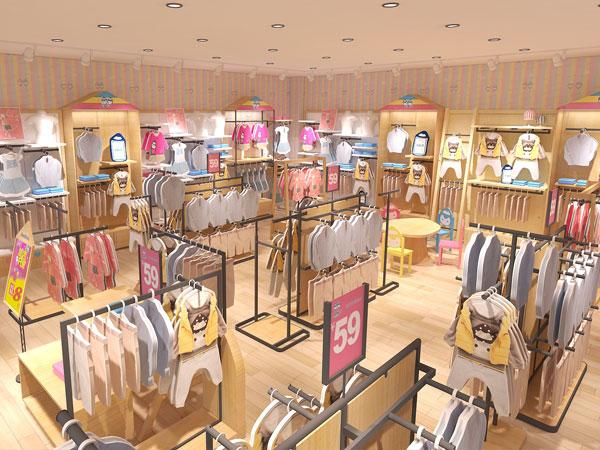 杰米蘭帝童裝品牌店鋪形象