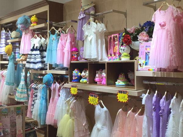 费解童品童装品牌店铺形象
