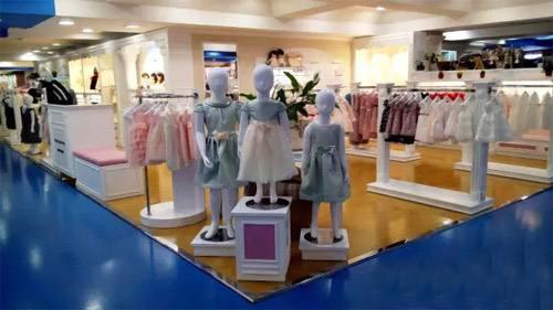 安妮公主童装品牌店铺形象