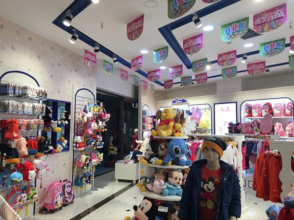 迪士尼童装童装品牌店铺形象