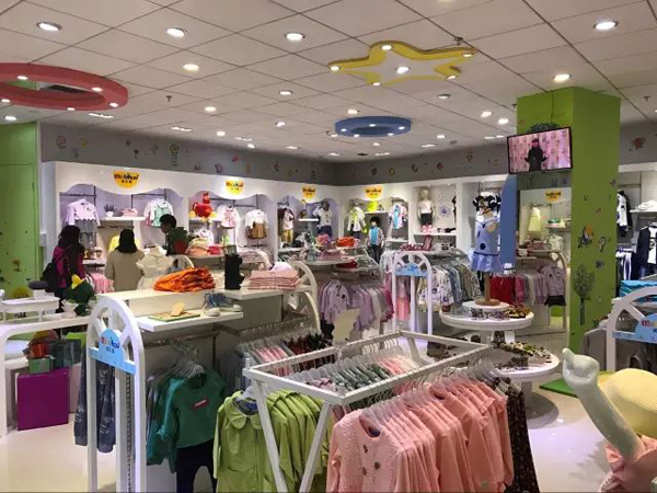 美乐猴童装品牌店铺形象