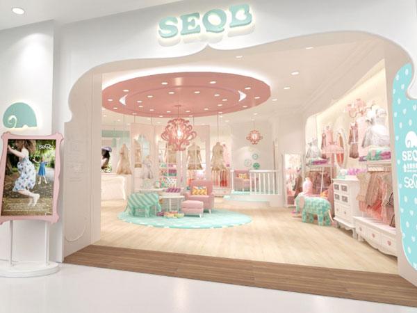 小象Q比童装品牌店铺形象