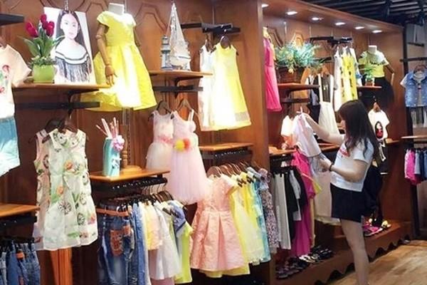 妙尼熊童装品牌店铺形象