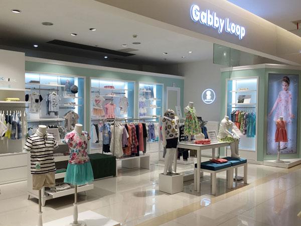加比瑞童装品牌店铺形象