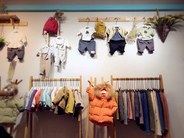 诺麦然童装品牌店铺形象