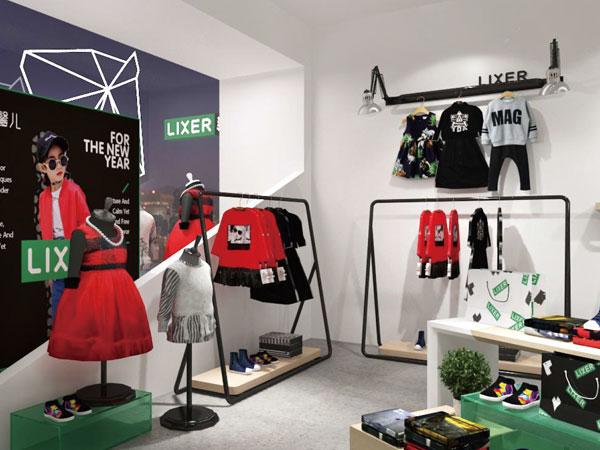 林馨儿童装品牌店铺形象