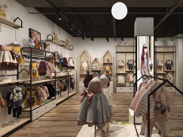 塔噠兒童裝品牌店鋪形象
