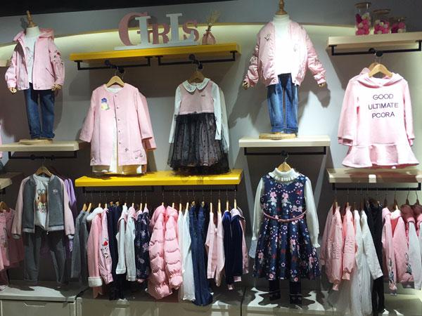 巴柯拉童装品牌店铺形象