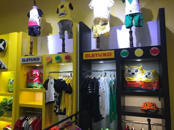 ELSTINKO童装品牌店铺形象