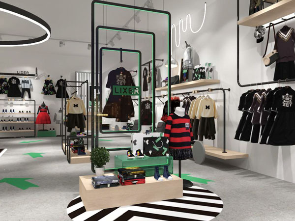林馨兒童裝品牌店鋪形象