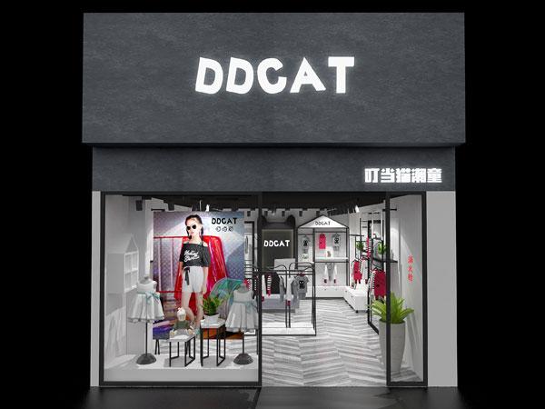 叮当猫潮童童装品牌店铺形象