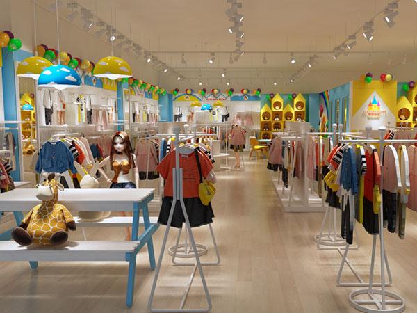 世纪童话童装品牌店铺形象