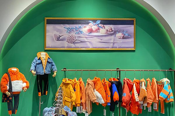 洛小米童裝品牌店鋪形象