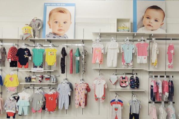 Carters童装品牌店铺形象