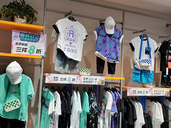 糖果布丁童裝品牌店鋪形象