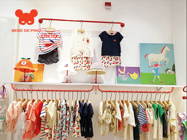 贝贝品诺童装品牌店铺形象