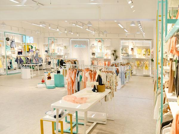 棉繪童裝品牌店鋪形象
