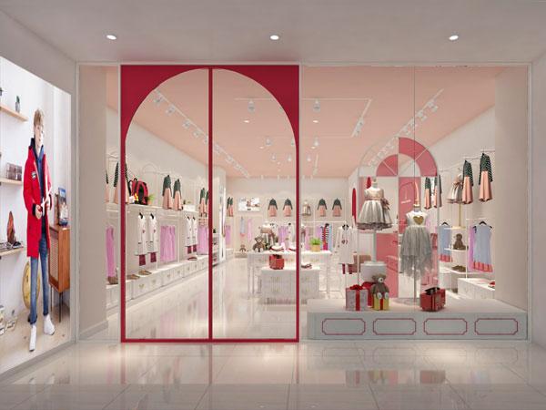 諾貝達童裝品牌店鋪形象