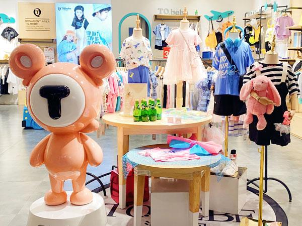 淘氣貝貝童裝品牌店鋪形象
