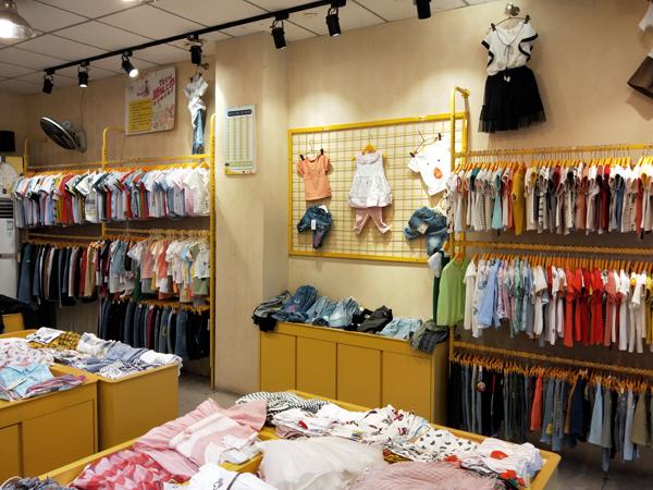 淘衣城堡童裝品牌店鋪形象