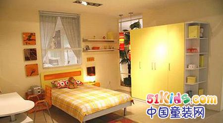 彩色儿童卧室——色彩创意搭配突显时尚