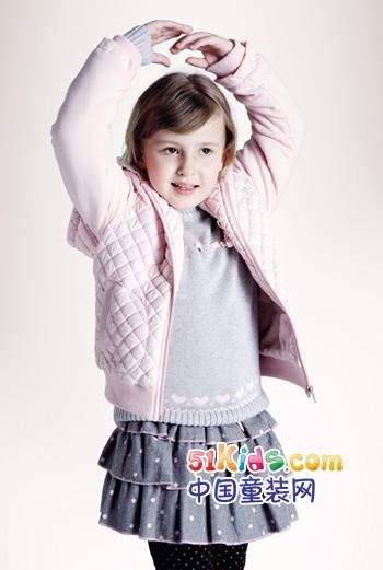 艾艾屋童装 甜美、简洁、清爽的品牌风格