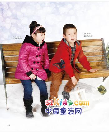 中国 童装/塔塔儿童装共享时尚