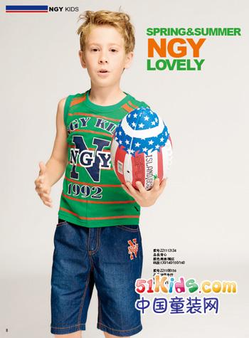 NGYkids童装 孩子穿得起的豪华