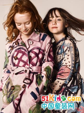 国际大牌Burberry 2014秋冬童装新品带你感受欧美潮流