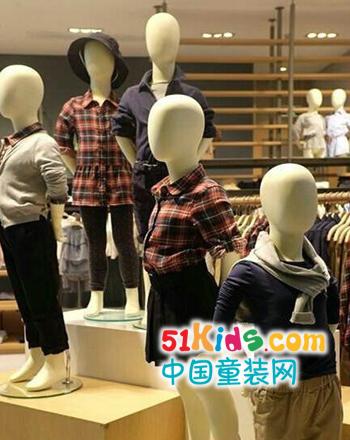 银泰百货杭州城西店Rubi Yoyo乐比悠悠童装秋装上市