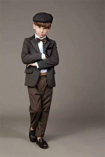 伊顿童装男童校园系列:英伦新尚