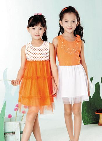 橙色时尚 与奇奇库童装欢度果味夏季时光
