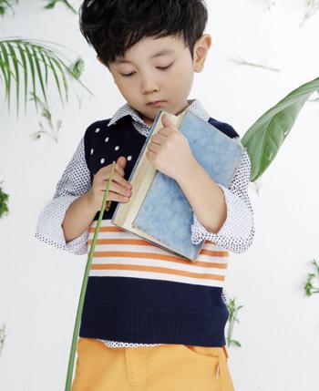 DIZAI童装打造小书生的乖乖气质