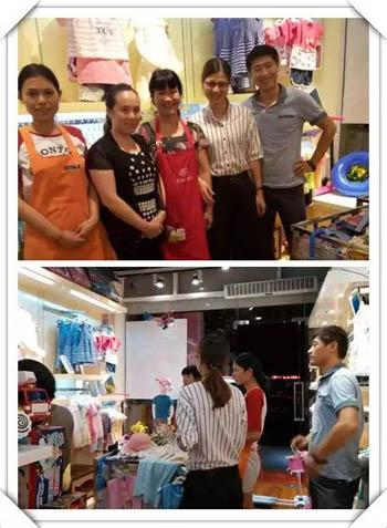 叮当猫广州巡店 有效提高店铺运营效率