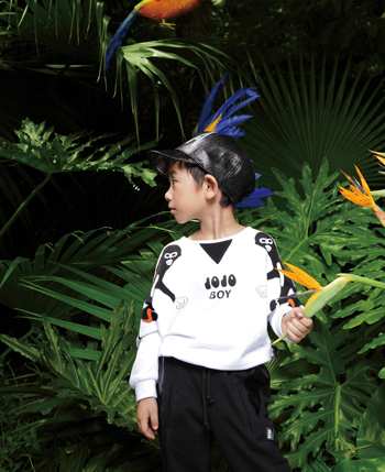 JOJO品牌童装的特色经营有发展之路