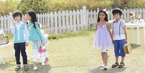 杰米兰帝品牌童装 这个季节飘然若风