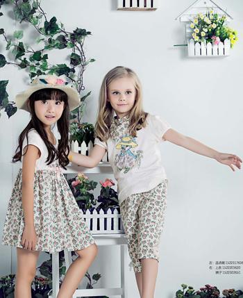 虹猫蓝兔品牌童装一抹娇嫩,可爱至极