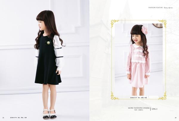 大千世界有贝乐依娃品牌童装相随